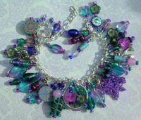 Magic and Mystery Art Charm Bracelet