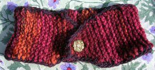 Handspun Knitted Neckwarmer